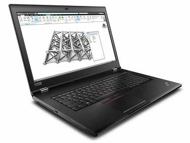 Lenovo ThinkPad P53 – мобильная рабочая станция с 3D-картой Nvidia Quadro RTX 5000 и экраном OLED разрешением 4К