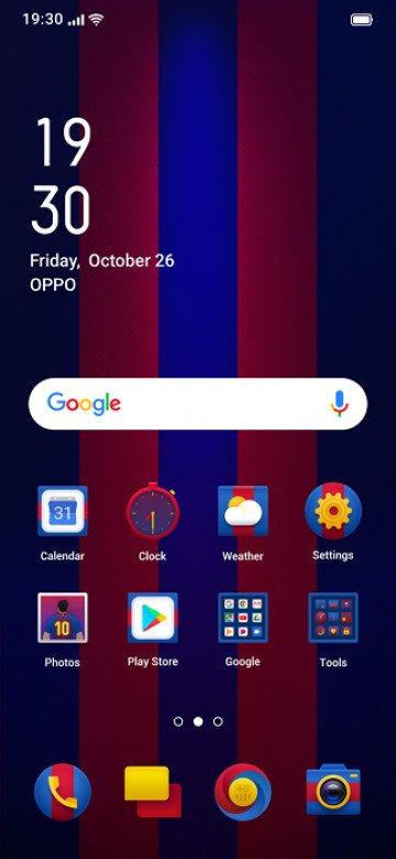 Фанатам «Барселоны» предложили смартфон Oppo Reno FC Barcelona