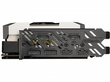 Три вентилятора, шесть видеовыходов и два восьмиштырьковых разъема – это видеокарта ASRock RX 5700 XT Taichi OC+