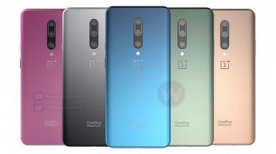 5 не самых обычных цветов. One Plus 8 Pro позирует на новых рендерах