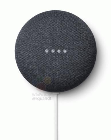 Рассекречена Google Nest Mini — умная колонка, которую можно повесить на стену