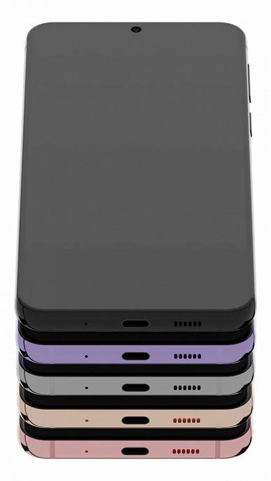 Такой Galaxy S21 мы еще не видели. Флагман Samsung во всех цветах на новых рендерах