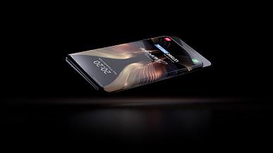 Samsung готовит смартфон в духе Xiaomi Mi Mix 3 и Xiaomi Mi Mix Alpha. Качественные изображения и видео