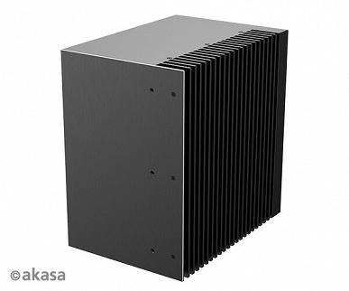 Корпус Akasa Turing QLX предназначен для мини-ПК на платформе Intel NUC 9 Pro