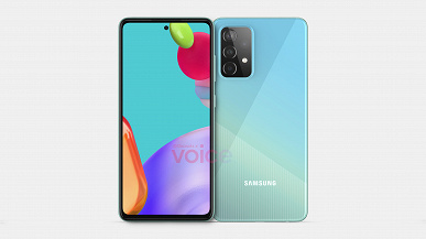 Нефлагманский смартфон Samsung, который, вероятно, обойдёт многие iPhone. Смотрим на первые изображения GalaxyA52