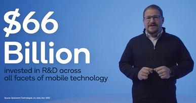 Qualcomm потратила $66 млрд на Snapdragon