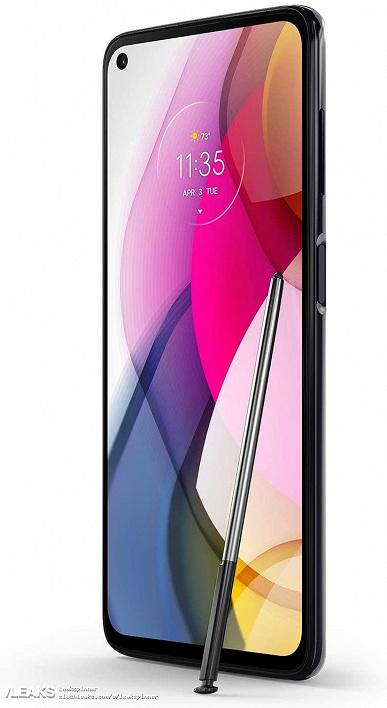 Новая Motorola со стилусом, недорого. Официальные изображения и цена Moto G Stylus 2021