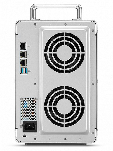 Сетевое хранилище TerraMaster F8-422 оснащено портом 10 GbE