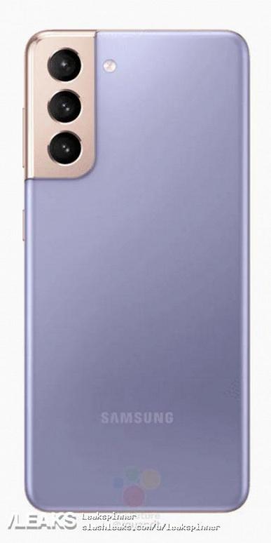 Пресс-рендеры Samsung Galaxy S21 и Galaxy S21+ во всех цветах