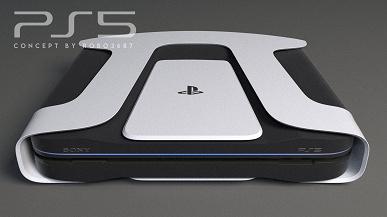 Так может выглядеть PlayStation 5 в стиле DualSense и Xbox Series X. Новые неофициальные рендеры