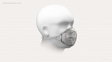 Создатели часов Amazfit и браслета Mi Band представили маску Aeri с фильтрами N95, встроенным УФ-излучателем и возможностью установки вентилятора