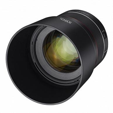 Начат прием предварительных заказов на объектив Rokinon 85mm f/1.4 с креплением Canon RF