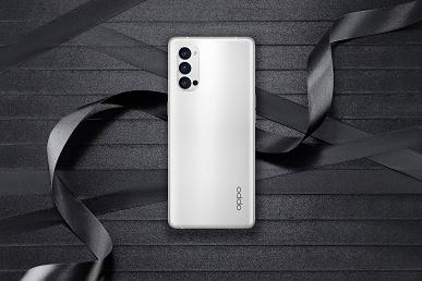 Три огромные камеры в смартфоне. Живые фото Oppo Reno4