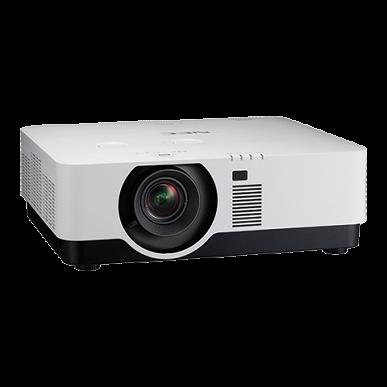 Проектор NEC Display P506QL поддерживает разрешение 4K UHD (3840 x 2160 пикселей)
