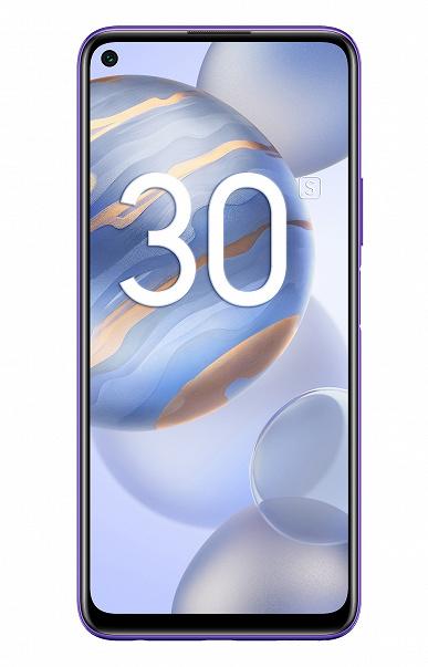 Honor объявляет о старте предзаказа на смартфон Honor 30S