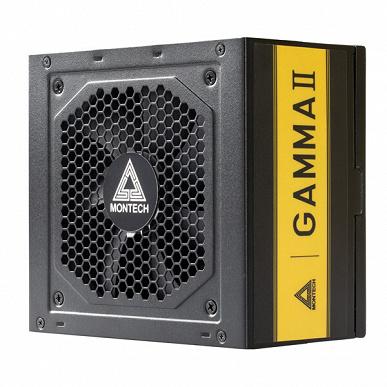 Блоки питания серии Montech Gamma II имеют сертификаты 80 Plus Gold