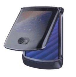 Смартфон-раскладушка Motorola Razr 5G на новых изображениях с разных сторон