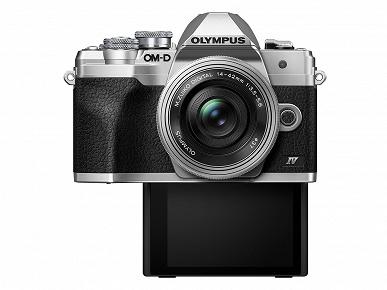 Представлена камера Olympus OM-D E-M10 IV системы Micro Four Thirds