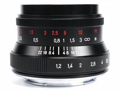 Появились изображения объектива 7Artisans 35mm f/1.2 Mark II