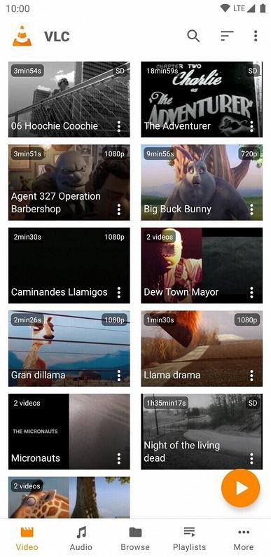 Легендарный медиаплеер VLC получил большое мобильное обновление