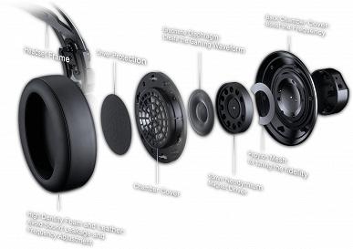 В игровой гарнитуре Cougar VM410 используются 53-миллиметровые излучатели и кабели «аудиофильского уровня»