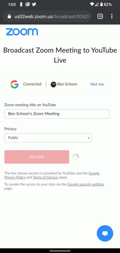 Важное обновление мобильного Zoom. Сквозное шифрование для всех и трансляции на YouTube