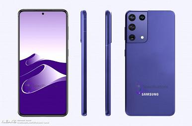 Smsung Galaxy S21 Ultra на новых изображениях выглядит иначе