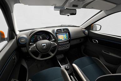 Dacia Spring Electric — полноценный электрический автомобиль стоимостью около 10 000 евро