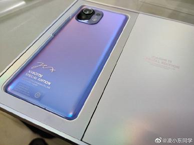 Живые фото Xiaomi Mi 11 Special Edition