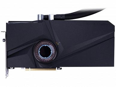 Видеокарта Colorful RTX 3070 Neptune оснащена системой жидкостного охлаждения