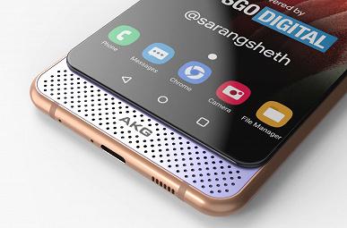 Слайдер Samsung Galaxy A82 сдвигается вверх и вниз: опубликованы качественные изображения