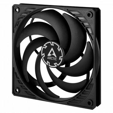 Arctic расширяет серию корпусных вентиляторов F пятью моделями чёрного цвета