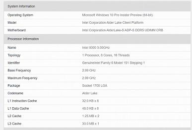 Восемь больших ядер и ни одного малого  достаточно ли этого для нового CPU Intel Тест процессора Alder Lake с видеокартой RTX 2080