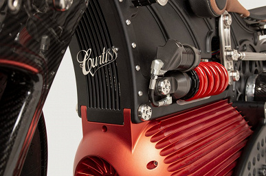 Первый американский электрический крузер. Электрический мотоцикл CurtissOne уже можно предзаказать, но нужно более 100 000 долларов
