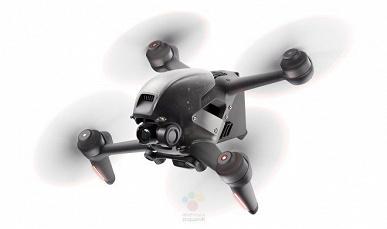 Скорость 54 км/ч, запись видео 4К с частотой 60 к/с и дальность полета 10 км. Опубликованы рендеры и характеристики дрона DJI FPV