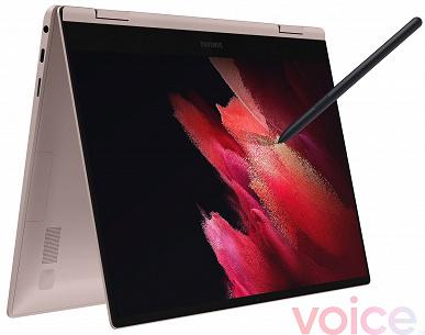 С экраном AMOLED, модемом LTE, стилусом и дискретной графикой Nvidia. Ноутбуки Samsung Galaxy Book Pro и Galaxy Book Pro 360 позируют на рендерах