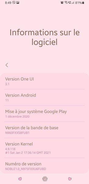 На Samsung Galaxy Note 9 можно установить интерфейс One UI 3.1 на базе Android 11
