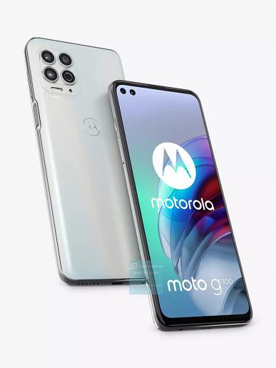 Snapdragon 870, 90 Гц, 64 Мп и 12 ГБ ОЗУ. Motorola G100 на качественных изображениях
