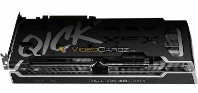 Стало известно, как будут выглядеть видеокарты XFX Radeon RX 6700 XT Speedster QICK319 и MERC319