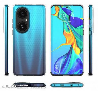Качественные изображения Huawei P50 и его защитного чехла