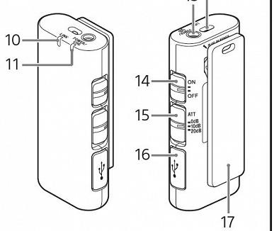 В сети появились изображения микрофонов Sony ECM-W2BT и ECM-LV1