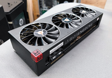Lenovo выбрала плохое время для выхода на рынок видеокарт. Появились фотографии Radeon RX 6900 XT Legion