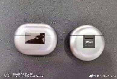 Наушники Терминатора. Изготовленные будто из жидкого металла Huawei FreeBuds 4 показали на живых фото за два дня до анонса