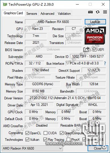 GPU Navi 23 и 8 ГБ памяти GDDR6. Подтверждены характеристики бюджетных видеокарт Radeon RX 6600 и RX 6600 XT