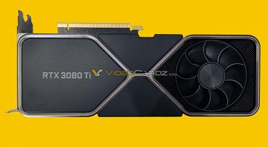 GeForce RTX 3080Ti FE будет горячей и шумной? Карта сохранила систему охлаждения младшей модели