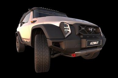 Независимый дизайнер показал УАЗ следующего поколения: UAZ Azimut как идейный преемник УАЗ-469