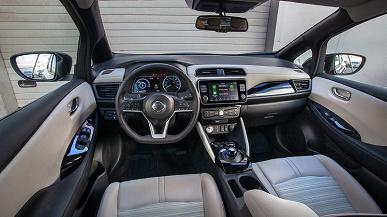 Один из самых популярных электромобилей в мире Nissan Leaf начали официально продавать на Украине