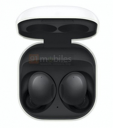 Как Galaxy Buds Pro, но без активного шумоподавления. Беспроводные наушники Samsung Galaxy Buds 2 показали на официальных изображениях