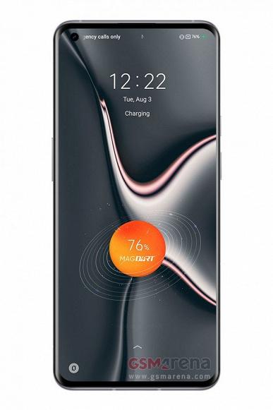 Первый смартфон на Android с магнитной беспроводной зарядкой. Появились фотографии Realme Flash