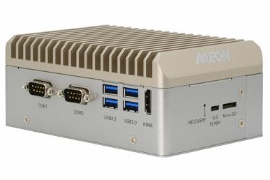 Компьютер Aaeon Boxer-8230AI построен на платформе Nvidia Jetson TX2 NX